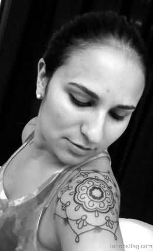 Fancy Mandala Tattoo