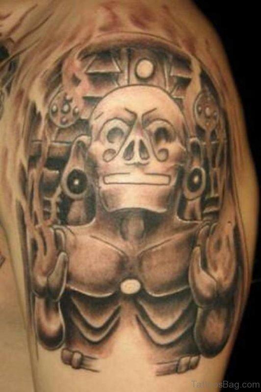 Fancy Mask Tattoo