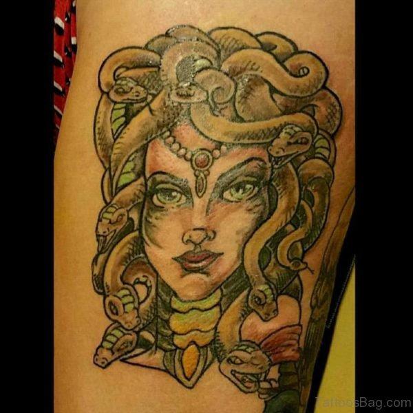 Fancy Medusa Tattoo