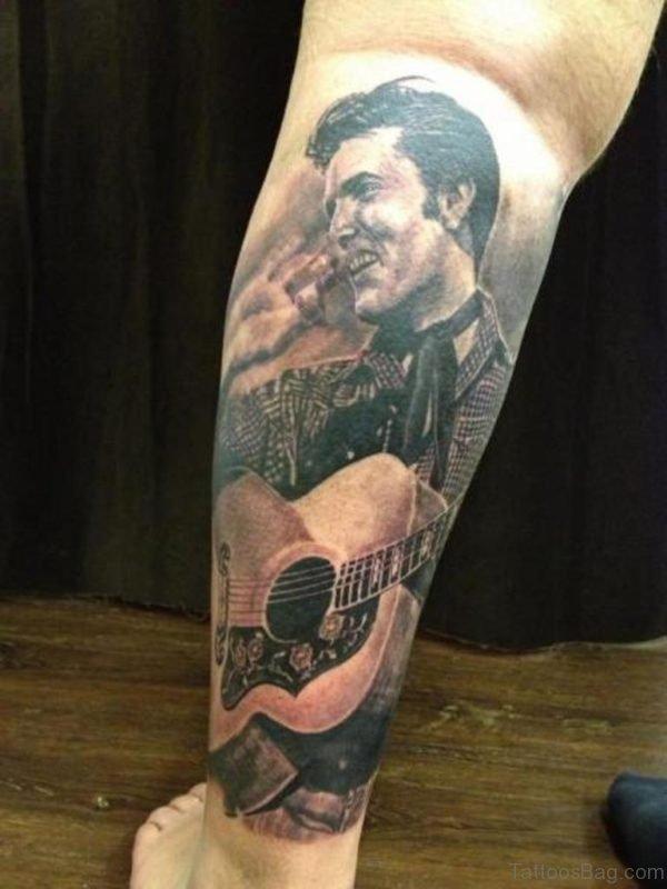 Fancy Portrait Tattoo