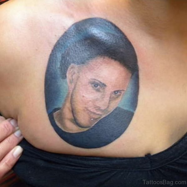 Fancy Portrait Tattoo