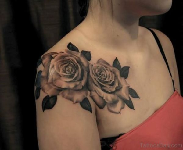 Fancy Rose Tattoo
