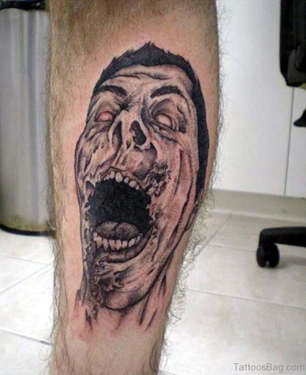Fancy Zombie Tattoo
