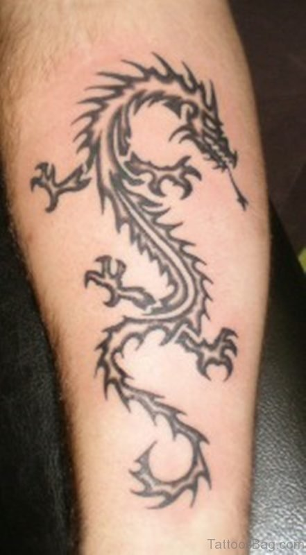 Fancy Dragon Tattoo