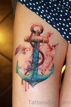 Fantastic Anchor Tattoo