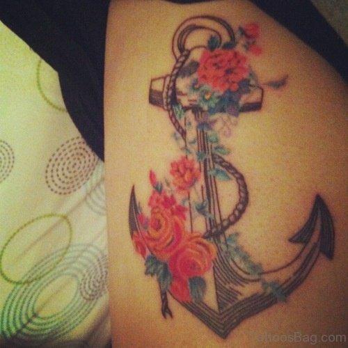 Fantastic Anchor Tattoo Design