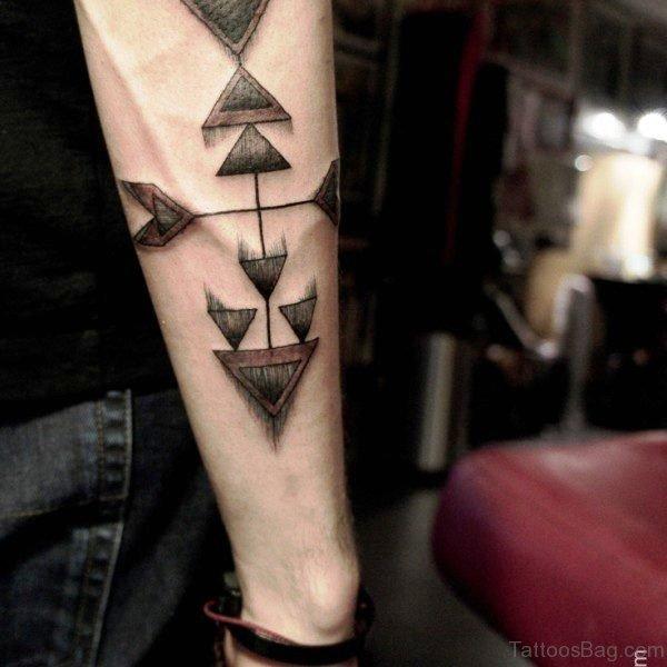 Fantastic Arrow Tattoo Design