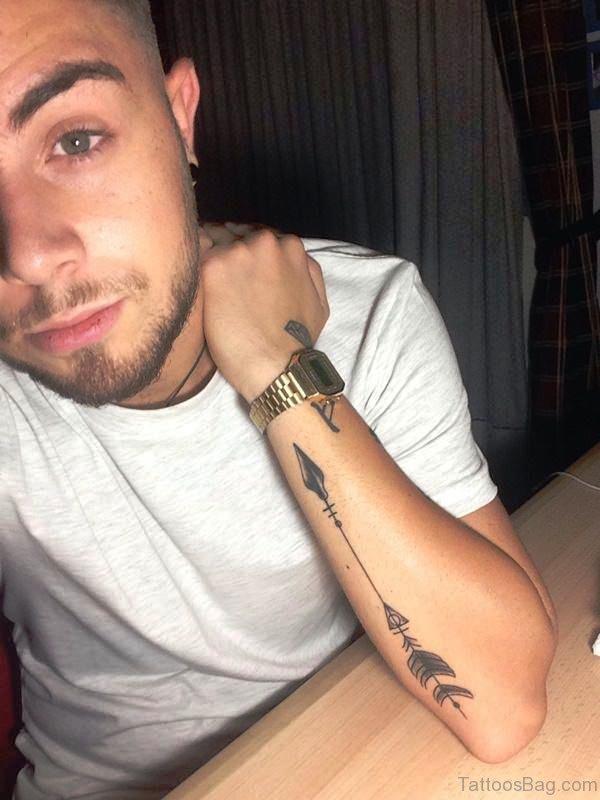Fantastic Arrow Tattoo On Arm