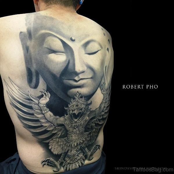 Fantastic Buddha Tattoo Design 1