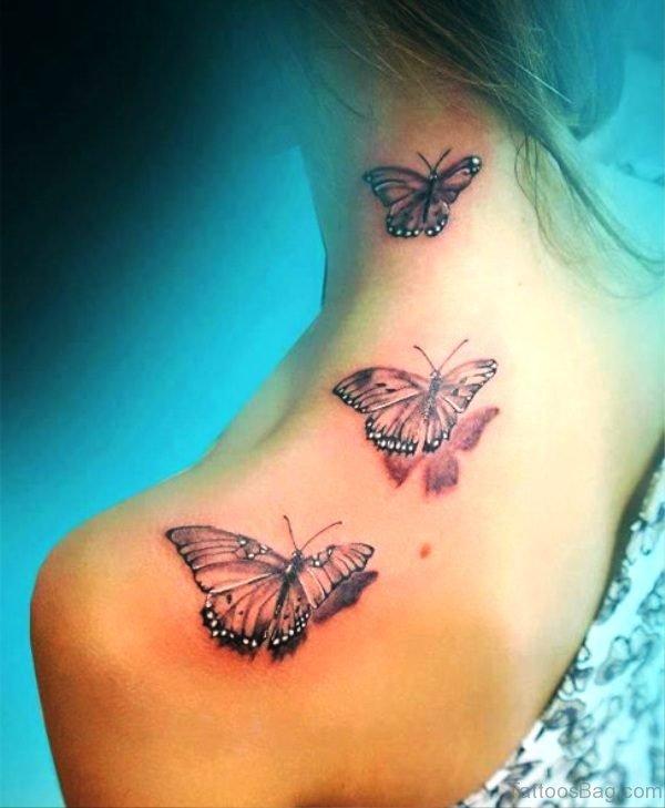 Fantastic Butterfly Tattoo Design