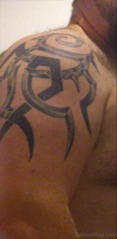 Fantastic Celtic Tattoo On Shoulder