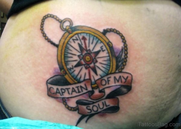 Fantastic Compass Tattoo Design