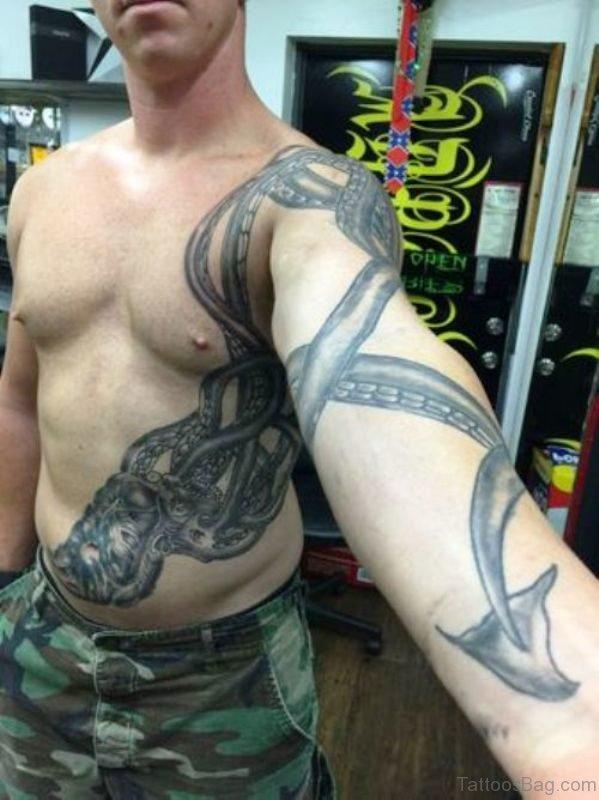 Fantastic Kraken Tattoo