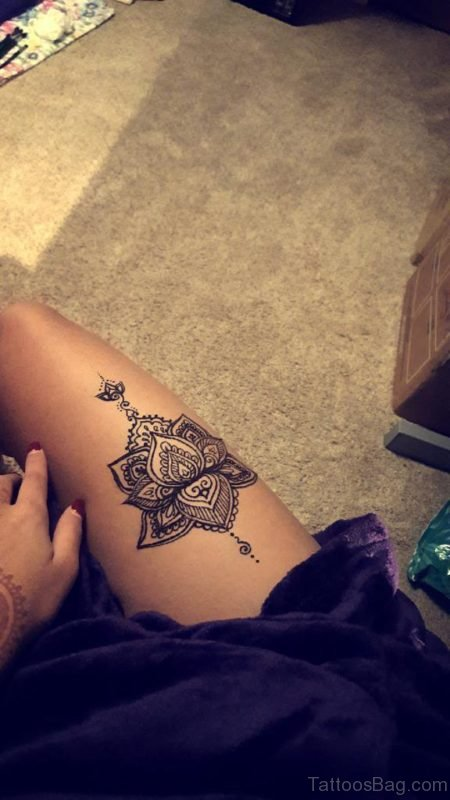 Fantastic Lotus Tattoo