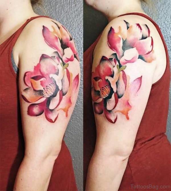 Fantastic Magnolia Tattoo