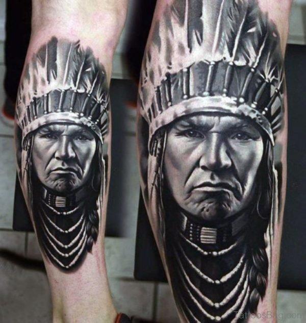 Fantastic Portrait Tattoo Design