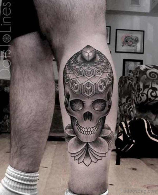 Fantastic Skull Tattoo
