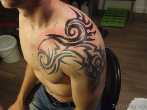 Fantastic Tribal Tattoo Design