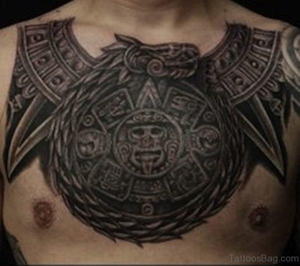Fantatsic Aztec Tattoo