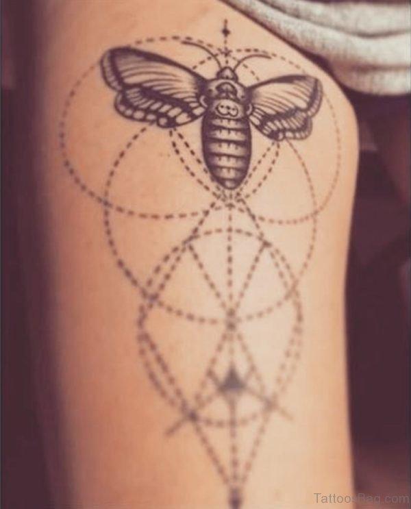 Fantatsic Bee Tattoo