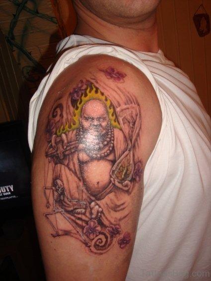 Fat Buddha Tattoo