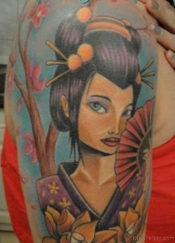 Fine Geisha Tattoo
