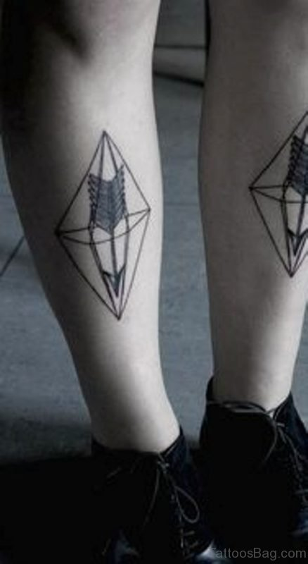 Fine Geometric Tattoo