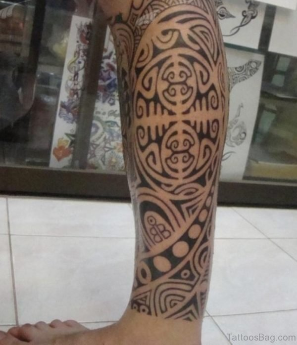 Fine Looking Tribal Tattoo
