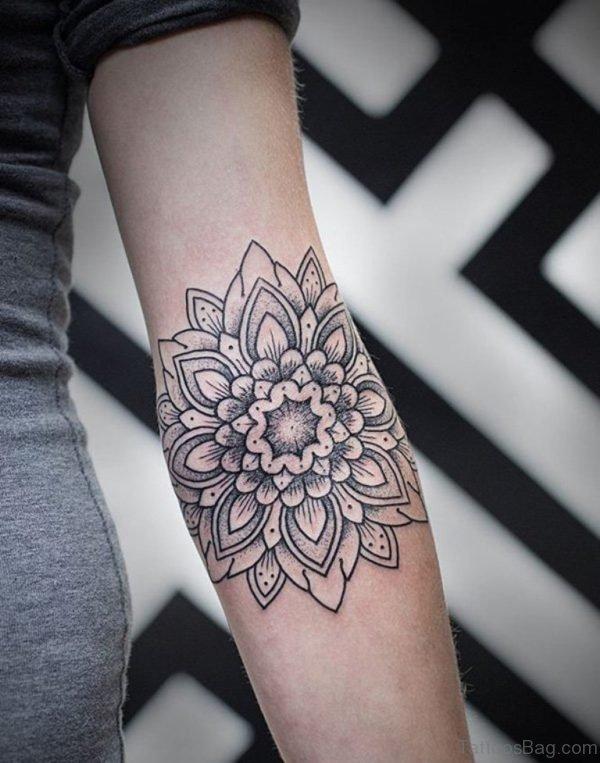 Fine Mandala Tattoo