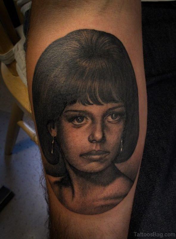 Fine Portrait Tattoo