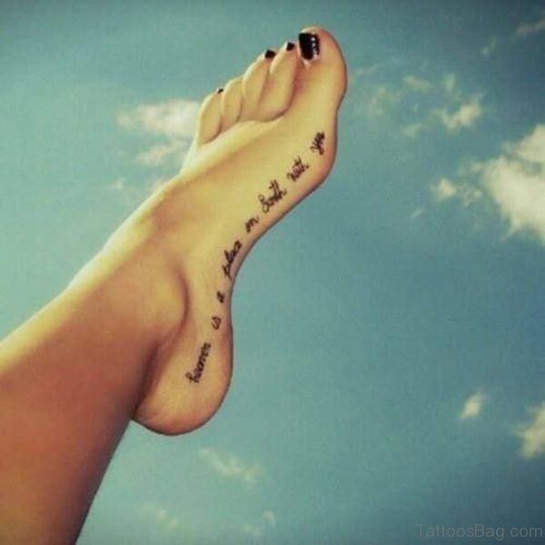 Fine Wording Tattoo