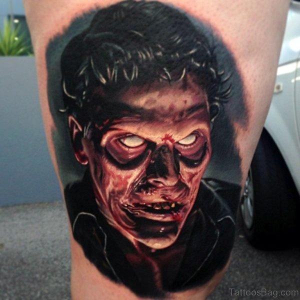 Fine Zombie Tattoo