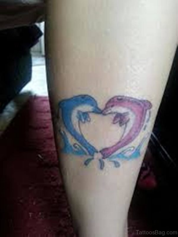 Fish Heart Tattoo