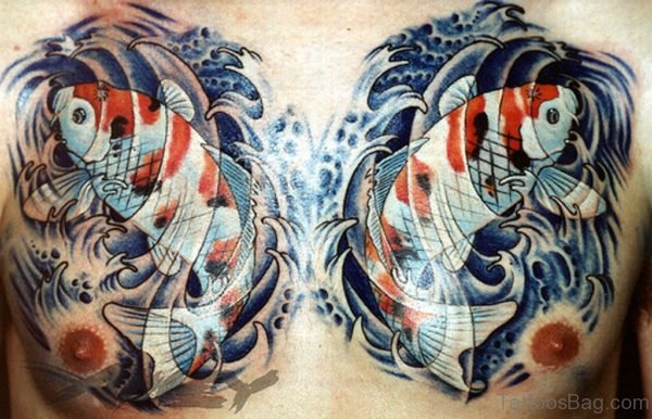 Fish Tattoo Designs On Chest