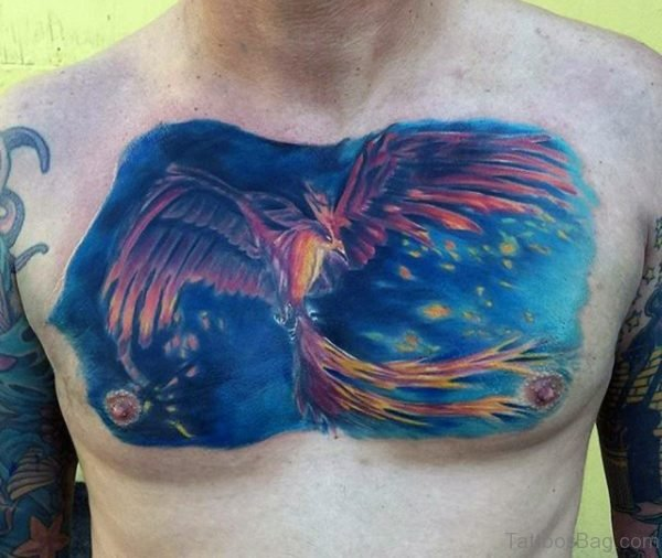 Flying Phoenix Tattoo