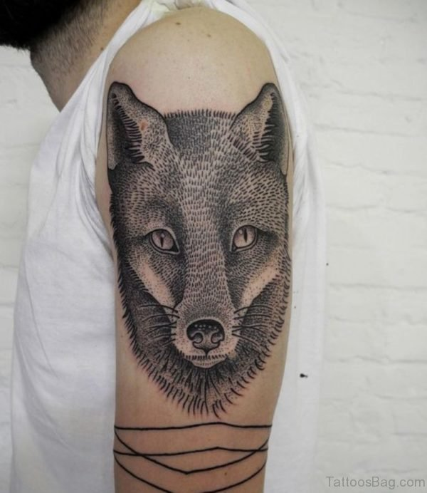 Fox Tattoo Design Image