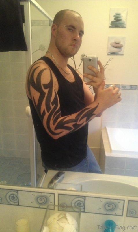 Funky Boys Tribal Tattoo