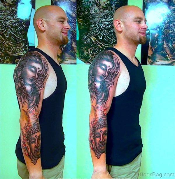 Funky Buddha Tattoo