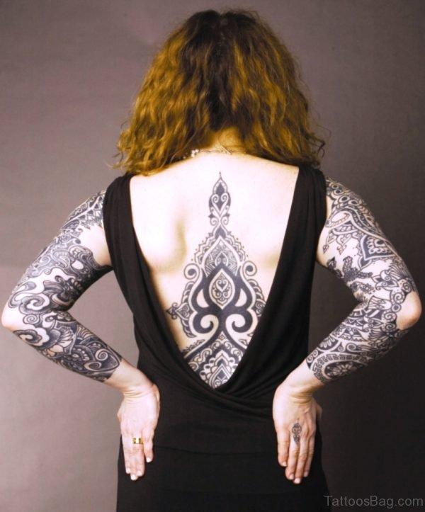 Funky Celtic Tattoo