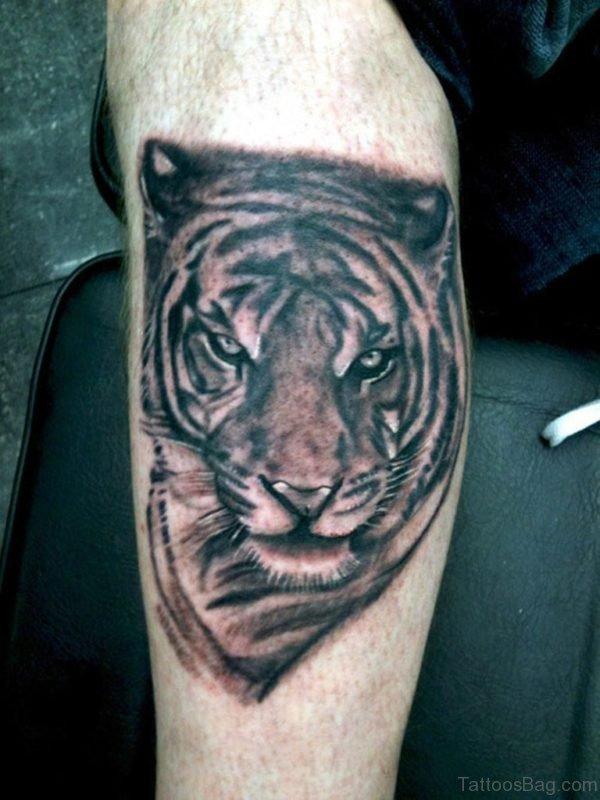 Funky Tiger Tattoo