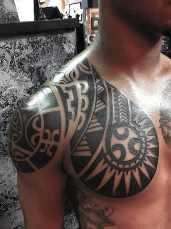 Funky Tribal Tattoo
