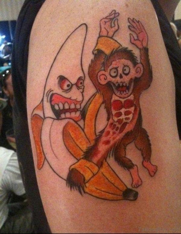 Funny Zombie Tattoo