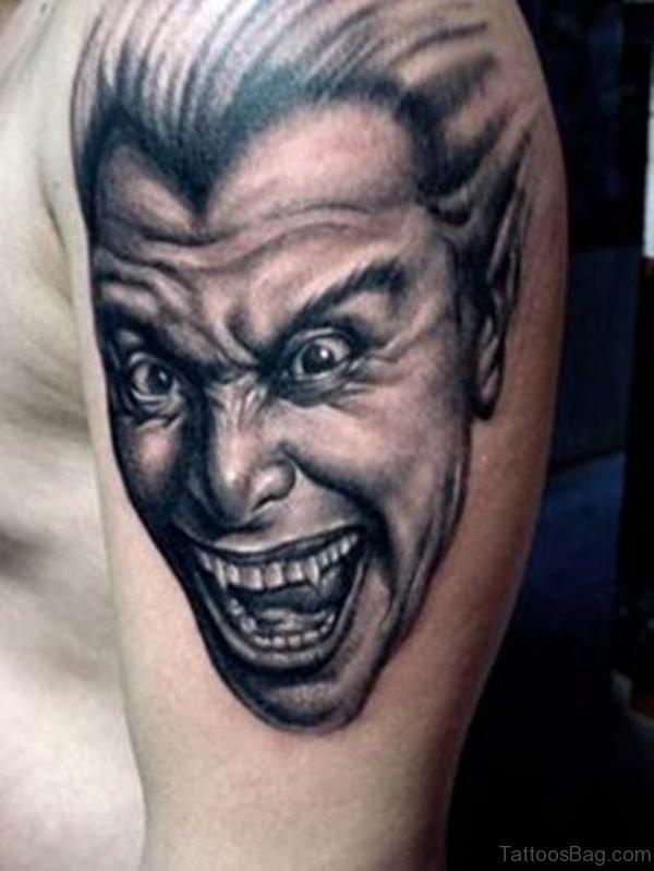 Funny portrait Tattoo
