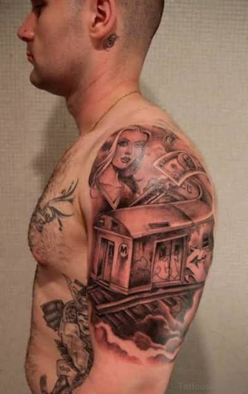 Gangsta Girl Tattoo