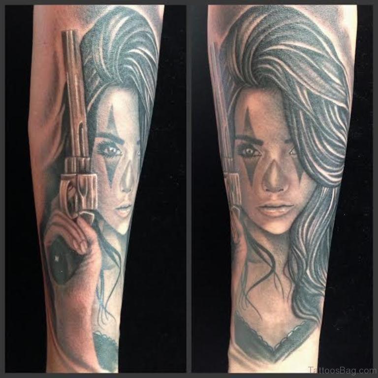 gangsta girls tattoos - photo #25