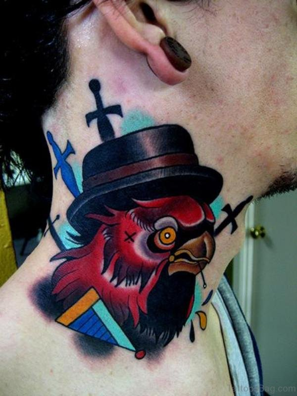 Gangster Owl Tattoo