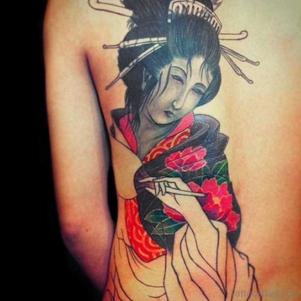 Garceful Geisha Tattoo