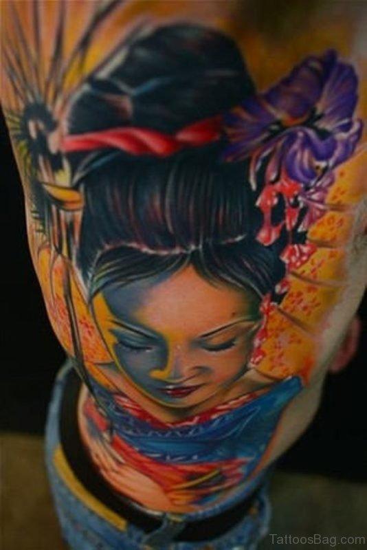 Geisha Girl Tattoo