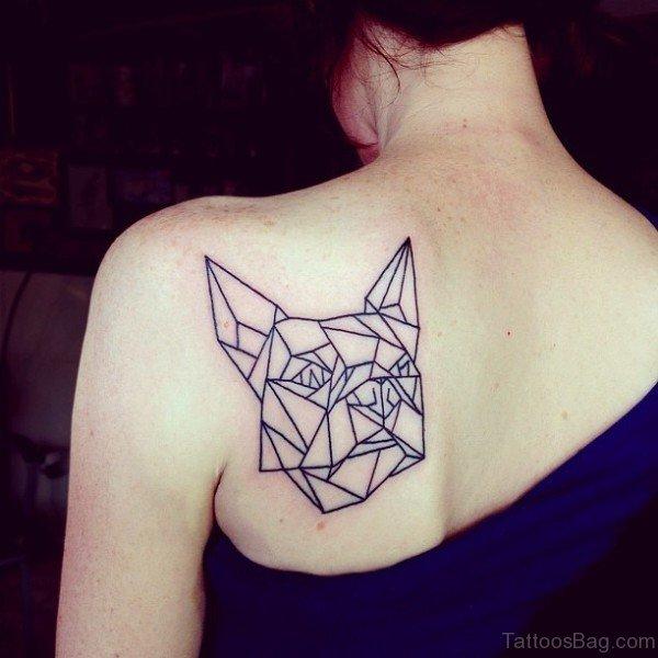 77 astonishing geometric shoulder tattoos. Black Bedroom Furniture Sets. Home Design Ideas
