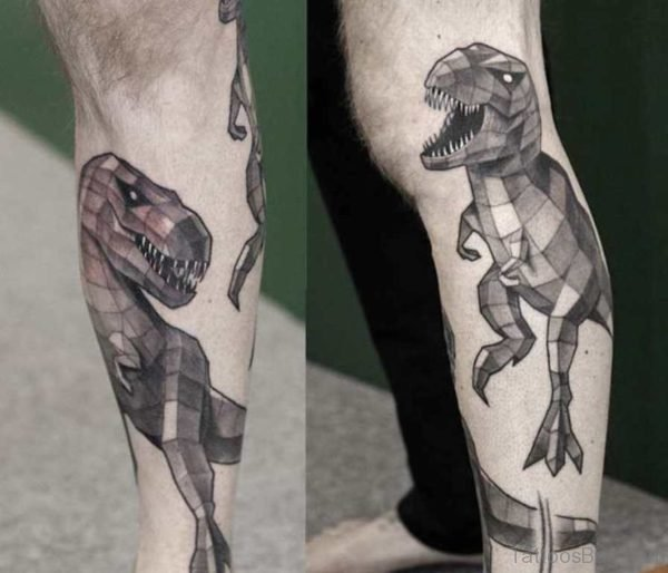 Geometric Aminal Tattoo